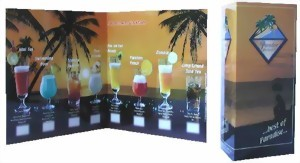 Paradise Cocktail-Barkarte